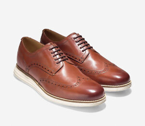 Men COLE HAAN ORIGINAL GRAND SHORTWING OXFORD Leather Shoes NEW