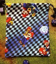 Nintendo Mario Kart dice bag, card bag, makeup bag