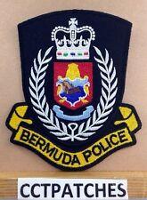 BERMUDA POLICE SHOULDER PATCH