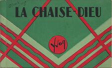 CPA Carnet 12 cartes postales La Chaise Dieu Haute-Loire Auvergne 1935