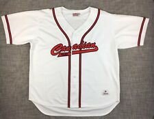 Molson Beer I Am Canadian Mens Size Large Baseball Jersey Shirt White Red