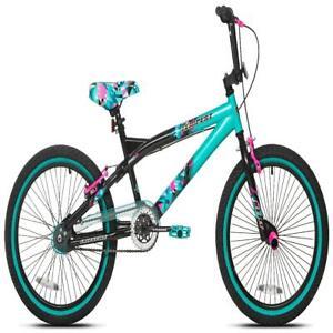 "Kent 20"" Tempest Girls Bike, Black/Aqua"