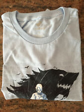 "NEW TeeFury ""Arya's List"" Men's Large Game of Thrones T-Shirt (Powder Blue)"