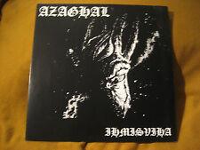 AZAGHAL ihmisviha ORIG VINYL LP baptism warloghe pest satanic warmaster horna