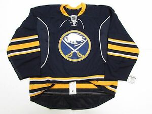 BUFFALO SABRES AUTHENTIC HOME TEAM ISSUED REEBOK EDGE 2.0 7287 JERSEY SIZE 56