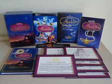 Disney Aladdin Collector's DVD Gift Set Region 1 Special Edition Book Pics Frame