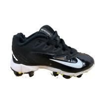 Nike Vapor Ultrafly Keystone Baseball Cleats Kids EU 28 US 11C (856494) Black
