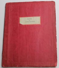 MACHINAL / Sophie Treadwell 1928 BROADWAY Expressionist Theatre Script