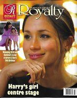 Royalty Magazine Meghan Markle Prince Harry Kate Middleton Crown Princess Mary