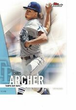 "2017 Topps Finest 5""x7"" #/49 Chris Archer Tampa Bay Rays ONLINE EXCLUSIVE JUMBO"