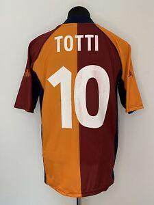 "AS Rom Trikot/ 2001/02/ Totti/ #10/ Home/ XL/ Roma/ ""INA"""