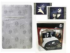NEW Disney Nightmare Before Christmas Jack Sally Sheets & Pillowcase Full/Double