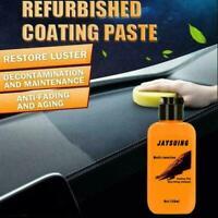 Auto Leather Renovated Coating Paste Maintenance Agent 120ml U8Q3 V2A7