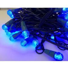 50er Led Motivo Guirnalda de Luces Iluminación Fiesta Navidad Azul Colores