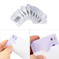 5/10x RFID Credit Card Holder Protector Blocking Case Aluminium Bank Card Cover-