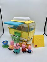 Peppa Pig Camper Van Retractable Awning Mommy Daddy George Accessory Grill Tent