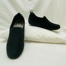 Clarks Women's Cloudsteppers Sillian Paz Slip On Flats Black $85 New with tags