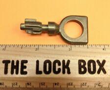 Vintage Brass Hollow Barrel Key European Unique Bit High Security Lock Key