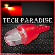 1x Ampoule T10 / W5W / W3W LED Bulb Rouge Red veilleuse lampe light 12V Auto