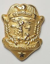 St. Michael Police Officer Pin, Great gift for that Police Officer you know.