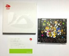 USED Super Mario 3D World Original Sound Track CD BOXED JAPAN Club Nintendo