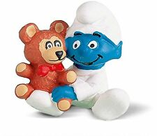 Smurfs - BABY with Teddy Bear Smurf