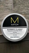 Paul Mitchell Mitch Barbers Classic Moderate Hold / High Shine Pomade 3 oz.