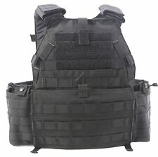 NEW London Bridge LBT-6094 Plate Carrier Vest LARGE (L) MOLLE Black Custom