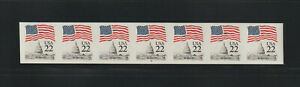 US ERROR Stamps: #2115f Flag Capitol. Imperf PS7 #5 PNC MNH $675.+
