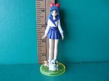 "Idol Densetsu Saki Yamamori 4""in PVC Sexy Blue Hair and Blue Skirt w/ cute pet!!"