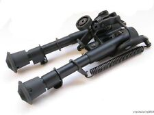 """Universal 6""""-9"""" Bipod 5 level Metal Rifle Foregrip Spring Bipod 6-9in Hunting Y4"""
