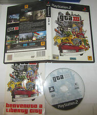 GTA III 3 Grand Theft Auto - Sony Playstation 2 PS2 PAL
