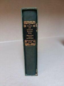 Tales of Edgar Allen Poe 1944 Random House Wood Engravings by Fritz Eichenberg