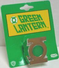 DC Comics Green Lantern Logo Men's Metal Power Ring Size 7, NEW UNWORN