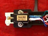 Shure Encore M75 ECS - Moving Magnet Phono Cartridge - new headshell, new stylus
