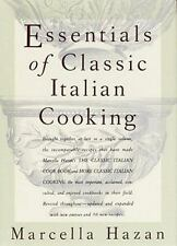 Essentials of Classic Italian Cooking by Marcella Hazan 2011