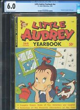 LITTLE AUDREY YEARBOOK - Rare! - CGC-6.0, CR-OW - Tied highest graded copy