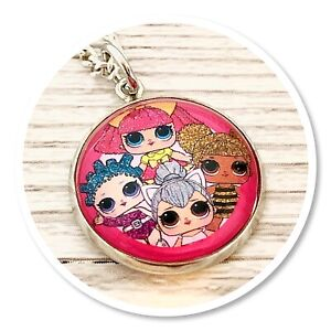 LOL Suprise Doll Necklace pink