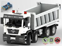 MAN TGS Truck - PDF Bauanleitung - kompatibel mit LEGO Steine