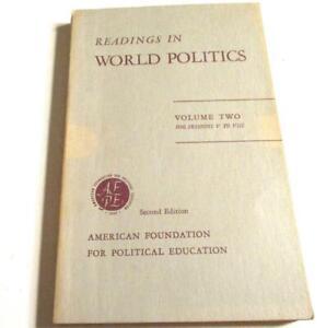 Readings in World Politics 2-Huxley-Einstein-Lincoln-Tolstoy-Dostoyevsky-Plato