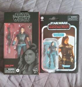 "Hasbro Star Wars Black Series 6"" Cara Dune MISB new sealed #101 & Vintage VC164"