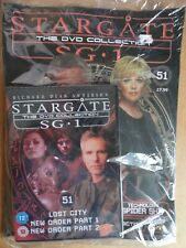 DVD COLLECTION STARGATE SG 1 PART 51 + MAGAZINE - NEW SEALED IN ORIGINAL WRAPPER