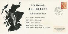 RUGBY 31.10.79 - Edinburgh, Scotland v New Zealand All Blacks 1979 comm cover