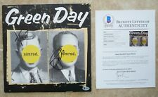 Green Day Nimrod All 3 Band Signed Autographed LP Album Beckett Certified