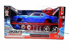Maisto  Pro Rodz  Metal Model Kit   '1968 Blue Chevrolet Camaro Z/28'  !/18