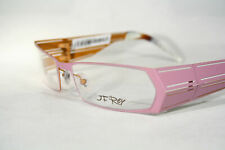 Geometrical JF REY J2168 Women's Pale Purple Pink Wide Eyeglass Glasses Frames