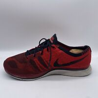 Nike Men's Flyknit Trainer Red/Black Size US 12.5 AH8396-601 Running Shoes EUR47