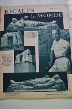 REGARDS SUR LE MONDE N°51 1937 FOCH BRESIL AVIATION LA ROUTE DES INDES HOLLANDE