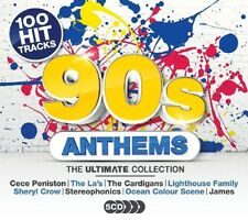 ULTIMATE 90S ANTHEMS (ACE OF BASE, OMC, SHERYL CROW, MOLOKO,...)  5 CD NEW+