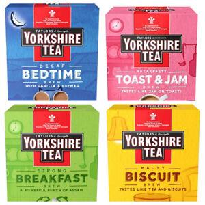 Yorkshire Tea Toast & Jam, Bedtime, Breakfast or Biscuit Brew 160 Tea Bags NEW
